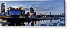 City At A Glance Acrylic Print