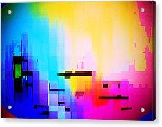 City At Dawn Acrylic Print
