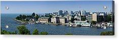 City At The Waterfront, Kingston Acrylic Print