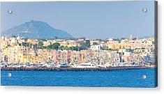 City At Waterfront, Marina Grande Acrylic Print by Panoramic Images