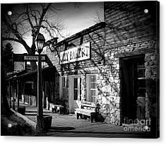 Acrylic Print featuring the photograph City Bakery by Janice Westerberg