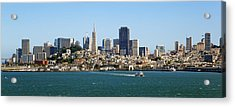 City By The Bay Acrylic Print by Kelley King
