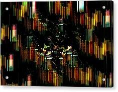 City Chaos #1 Acrylic Print