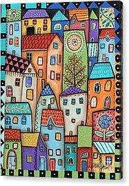 City Digs Acrylic Print