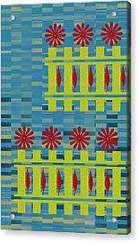 City Garden Acrylic Print by Ben and Raisa Gertsberg
