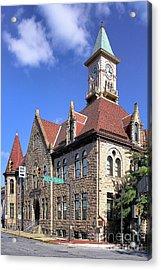 City Hall - Johnstown Pa Acrylic Print