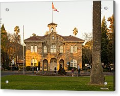 City Hall Sonoma Acrylic Print by Rima Biswas