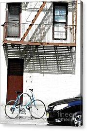City Home Acrylic Print by Sarah Loft