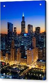 City Light Chicago Acrylic Print