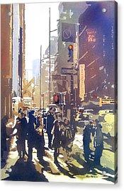 City Light Acrylic Print