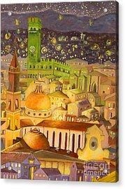 City Light Star Light Acrylic Print