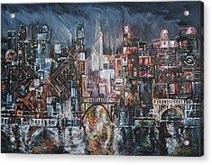 City Lights II Acrylic Print