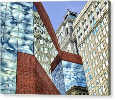 City Magic I Acrylic Print by Dan Carmichael