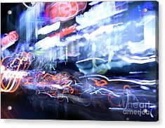 City Motion 6092 Acrylic Print by Igor Kislev