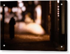 City Nights Acrylic Print by Bob Orsillo