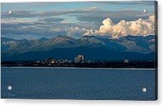 City Of Anchorage  Acrylic Print