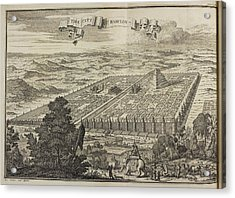 City Of Babylon And Surrounding Area Acrylic Print by British Library
