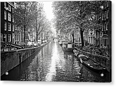 Acrylic Print featuring the photograph City Of Canals by Ryan Wyckoff
