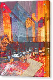 City Of Color Acrylic Print