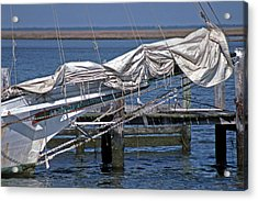 City Of Crisfield Acrylic Print