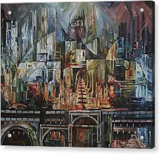 City Of Dreamers II Acrylic Print