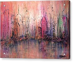 City Of Hope Acrylic Print