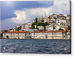 City Of Istanbul Cityscape Acrylic Print by Artur Bogacki