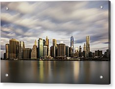 Acrylic Print featuring the photograph City Of Light by Anthony Fields