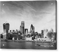 City Of London  Acrylic Print by Pixel Chimp