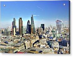 City Of London Skyline Acrylic Print by Vladimir Zakharov