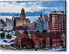 City Of Neighbors  Acrylic Print by Carlos Ruiz