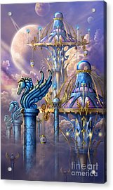 City Of Swords Acrylic Print