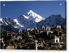 City Of The Dead Acrylic Print by James Brunker