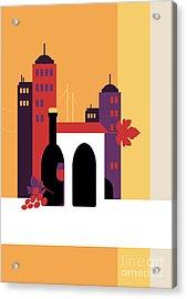 City Of Wine Acrylic Print
