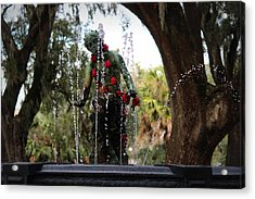 City Park Fountain Acrylic Print