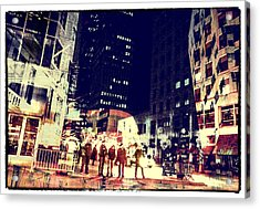 City People Acrylic Print