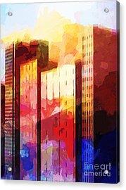 City Pop Acrylic Print
