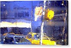 City Reflection Acrylic Print