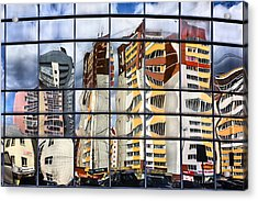 City Reflections Acrylic Print