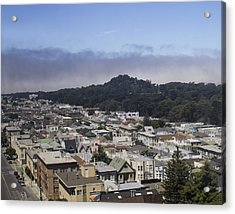 City Scape Acrylic Print by Dee  Savage