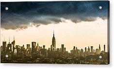 City Storm Acrylic Print