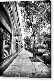 City Street Acrylic Print by John Rizzuto