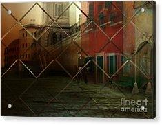 City Street Acrylic Print by Liane Wright