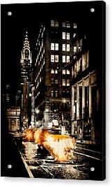 City Streets  Acrylic Print by Az Jackson