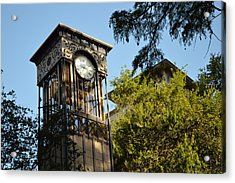 City Time  Acrylic Print by Shawn Marlow
