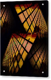 City View Abstract Acrylic Print
