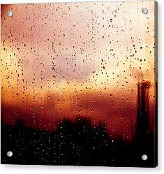 City Window Acrylic Print by Bob Orsillo