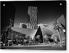 citycenter development including the veer towers and the crystals shopping area Las Vegas Nevada USA Acrylic Print