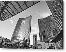 Citycenter - View Of The Vdara Hotel And Spa Located In Citycenter In Las Vegas  Acrylic Print