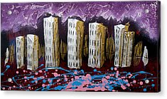 City's Leftovers Acrylic Print by Nathan Wilson